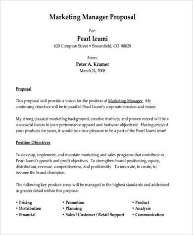Job Proposal Sample - 8+ Free Documents in Word, PDF