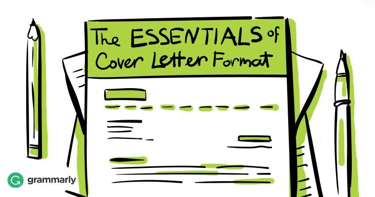 The Essentials of Cover Letter Format | Grammarly Blog