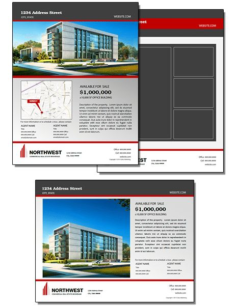 Listing Brochure Template - Commercial Real Estate