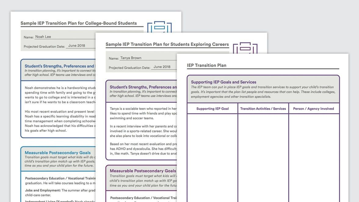 Sample IEP Transition Plan