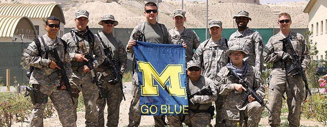 A Soldier Gets His Wish | University of Michigan Official Athletic ...