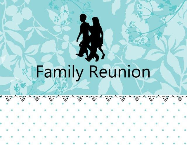 Free, Printable Family Reunion Invitations
