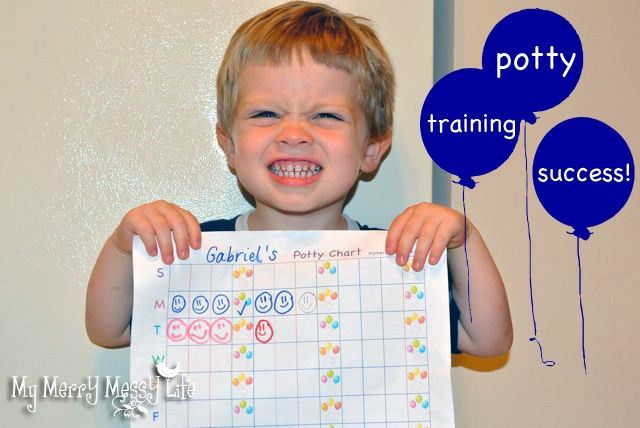 Potty Training Success Story - Use A Chart {free printable} - My ...