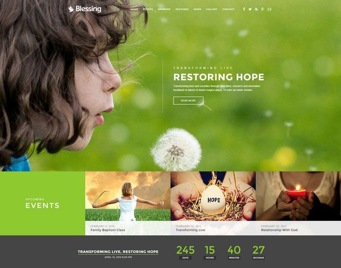 26 Best HTML5 Church and Charity Website Templates