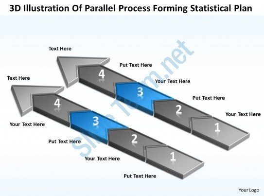 Sample Business Model Diagram Of Parallel Process Forming ...