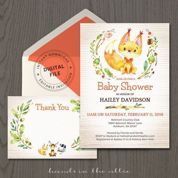 114 best Baby Shower Invitations images on Pinterest | Baby shower ...