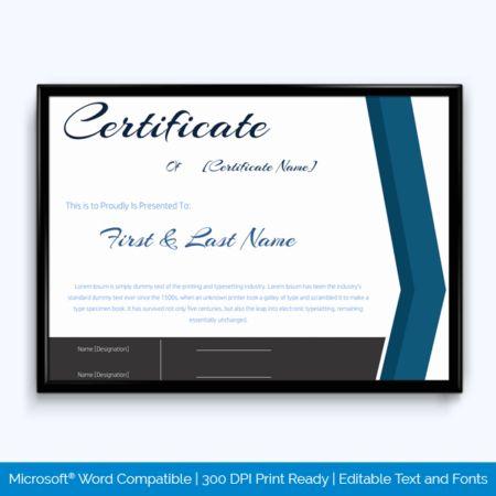 Best Teacher Award Certificate Templates - Word Layouts