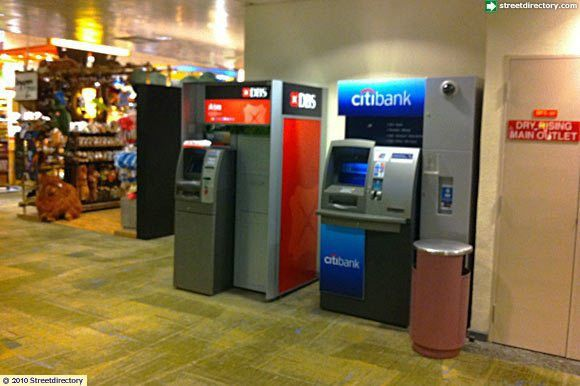 ATM, Changi Airport T2 Departure Hall (Citibank) Image Singapore