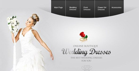 Premium Wedding Websites Templates - Designmodo
