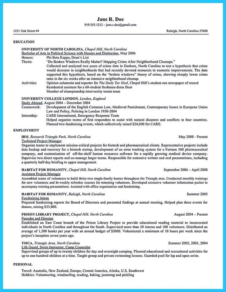 8 best work images on Pinterest | Cover letters, Job resume and ...