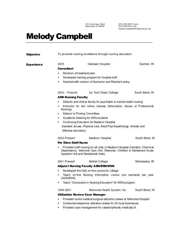 resume templates for labor and delivery nurses. resume examples ...