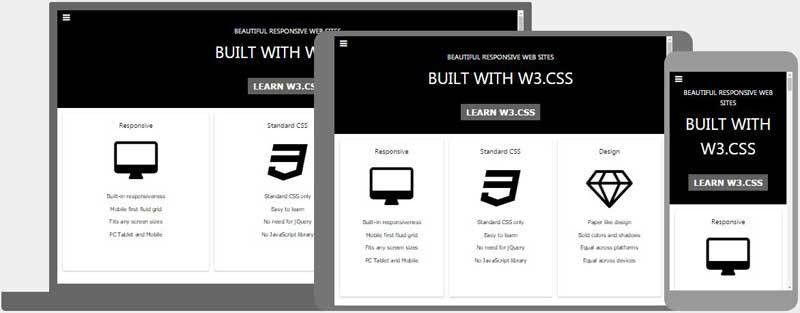 W3.CSS Pro