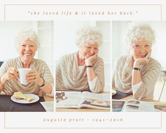 Celebration of Life Photo Collage - Templates by Canva