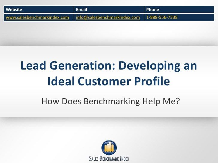 Lead generation developing an ideal customer profile