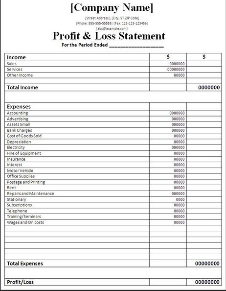 Excel Sheet For Accounting Free Download Free Excel Accounting ...