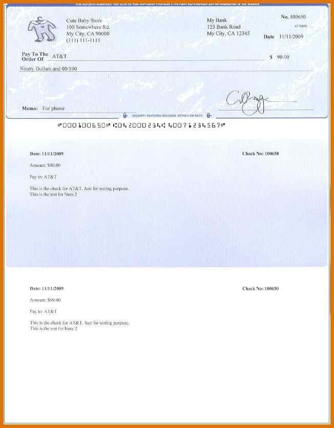 free check stub template printables | modern bio resumes