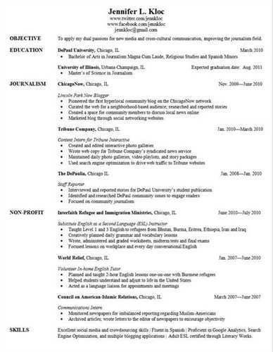 Resume examples for graduate school application | Sample analysis ...