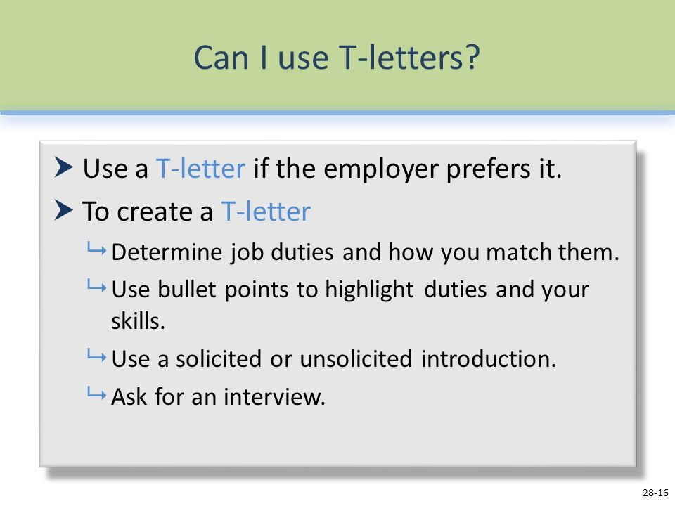 Job Application Letters - ppt video online download