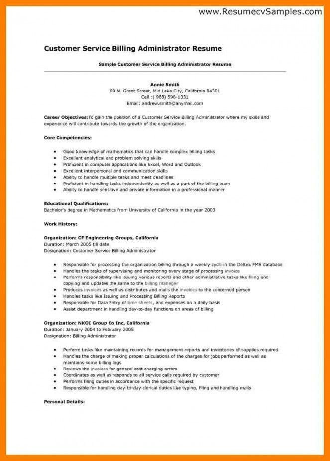 Resume Skills Examples For Customer Service | Resume Examples 2017