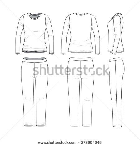 Pants Template Stock Images, Royalty-Free Images & Vectors ...