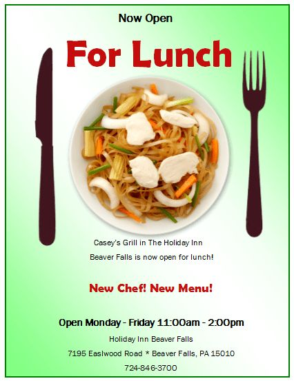 luncheon flyer template - Template
