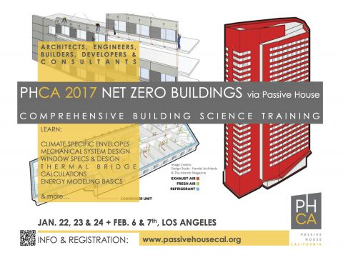 Net Zero via Passive House - Consultant Training in Los Angeles ...
