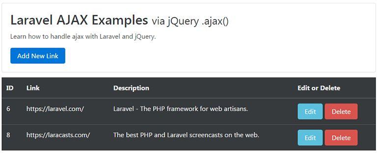 Laravel AJAX CRUD Tutorial - Web Development Tutorials