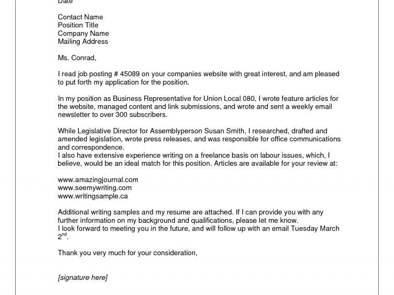Cover Letter Resume Template - CV Resume Ideas