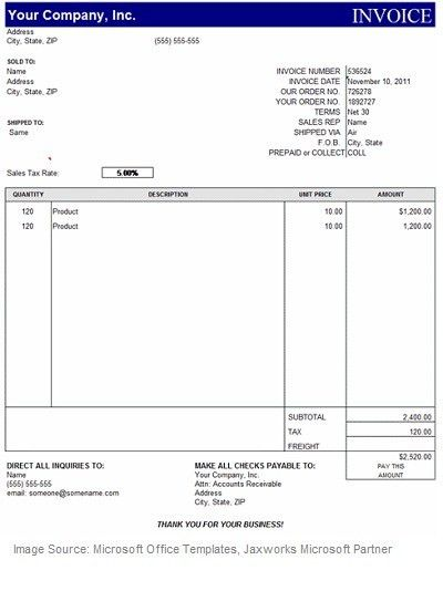 Download Invoice Template Consulting Excel | rabitah.net