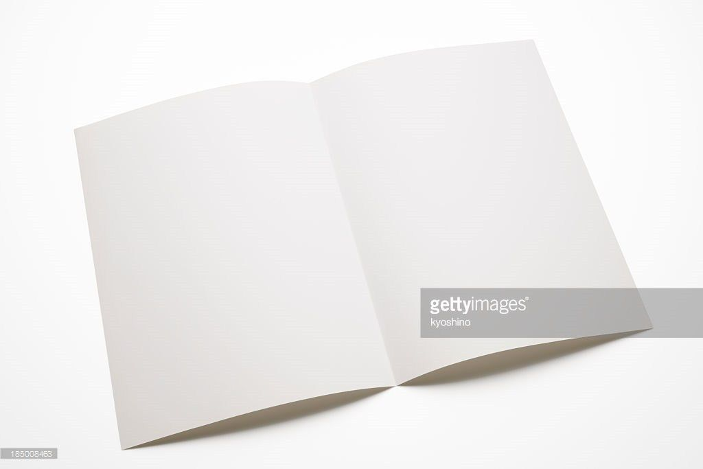 Blank Brochure Stock Photo | Getty Images