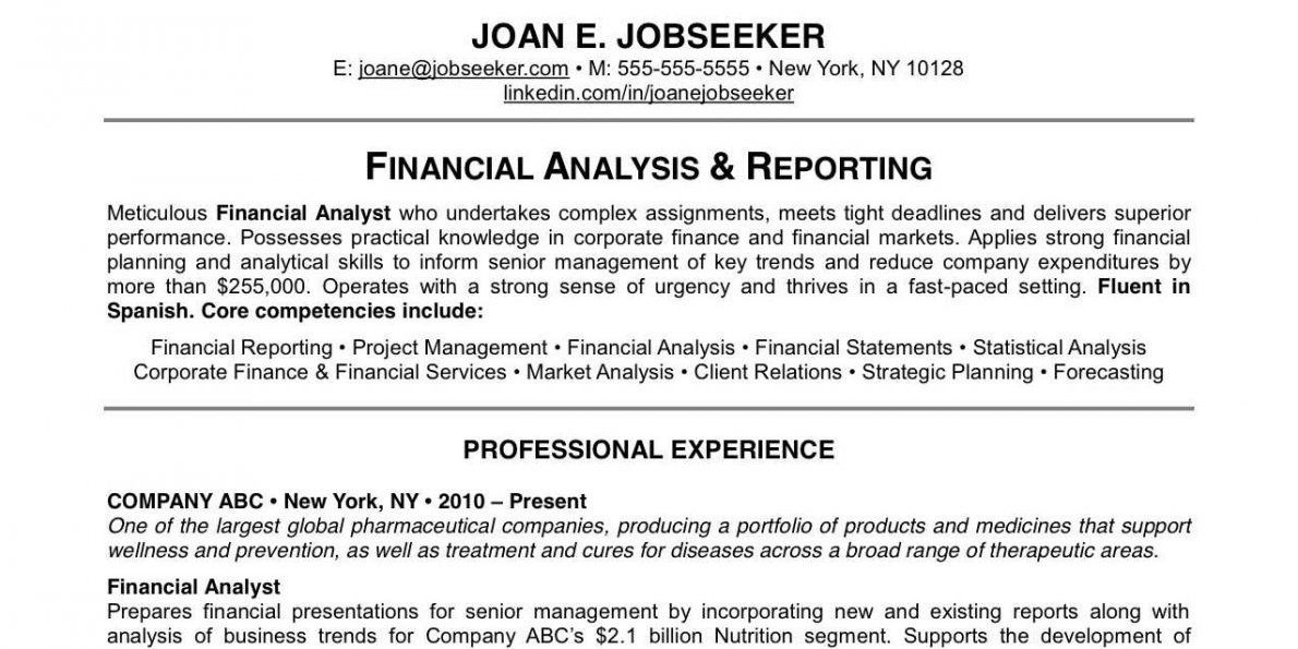 Why This Is An Excellent Resume - Business Insider