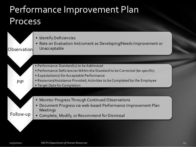 Performance Improvement Plan. Food Safety Performance Improvement ...