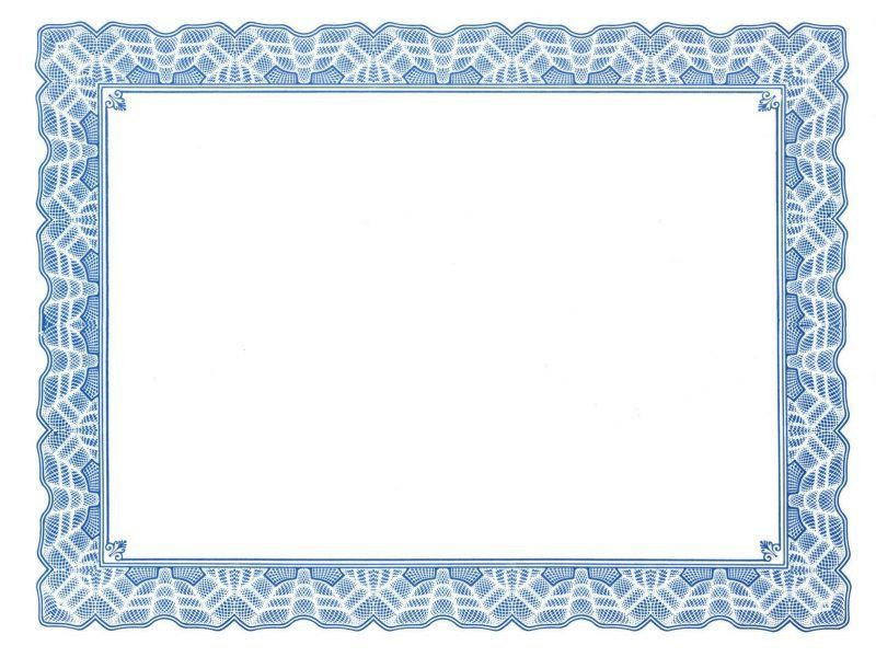 Free Certificate Border Templates For Word | Besttemplates123