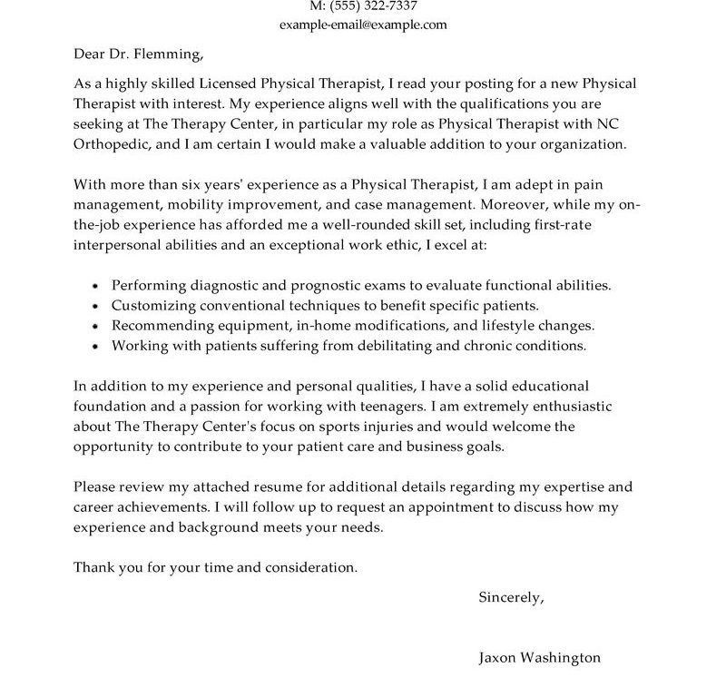Pretentious Design Ideas Healthcare Cover Letter 12 Best Physical ...