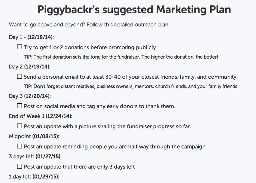 Effective Fundraiser Marketing | Piggybackr