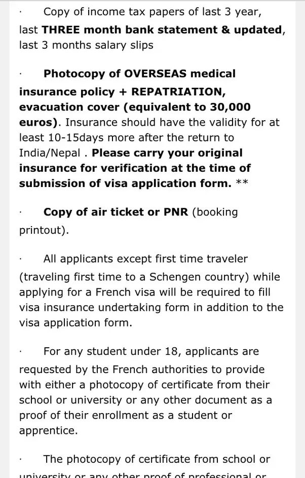 I want to travel to the Europe and I need to apply a Schengen visa ...