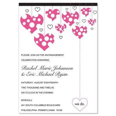 Engagement Party Invitation Templates – gangcraft.net