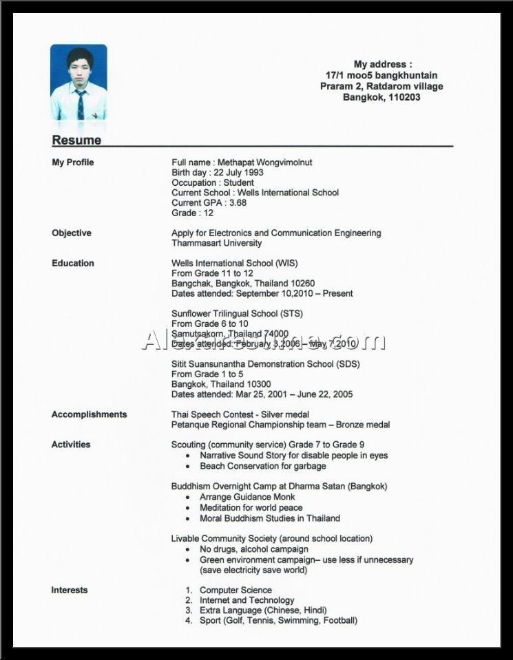 Work Experience Resume. Resume Format For Fmcg Workex Resume/Cv ...