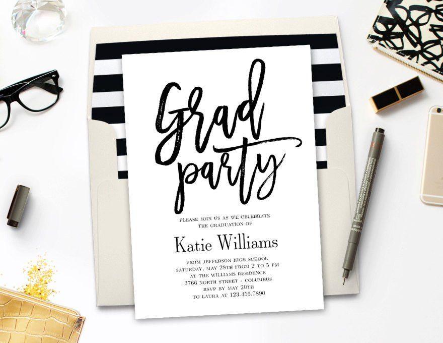 Graduate Invites: Cool Graduation Party Invitations Designs ...