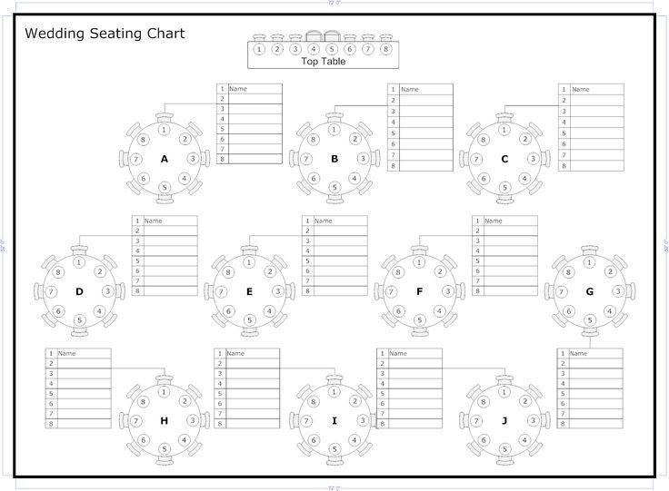 The 25+ best Wedding seating plan template ideas on Pinterest ...