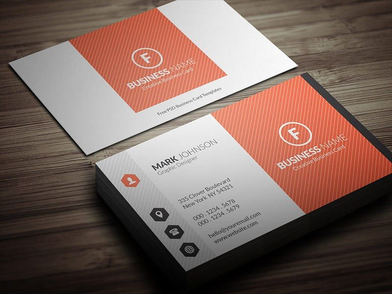 Free Business Card Template | Free Business Template