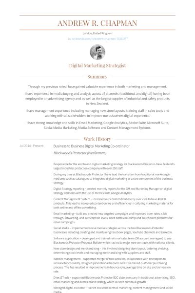 marketing resume samples marketing resume sample resume genius