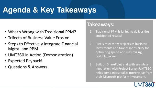 UMT360Webinar_Project and portfolio financial controls for microsoft …
