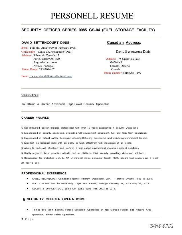 Resume format-signed