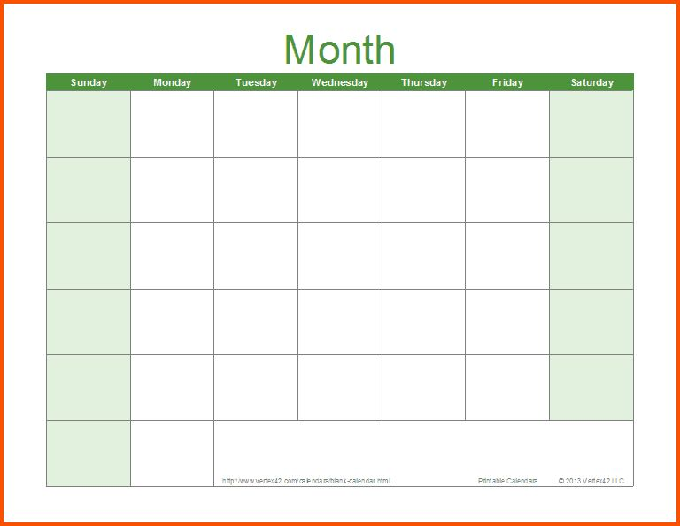 28+ [ Word Template Calendar ] | 16 Printable Microsoft Word ...