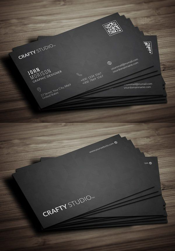 Free Business Card Templates | Freebies | Graphic Design Junction