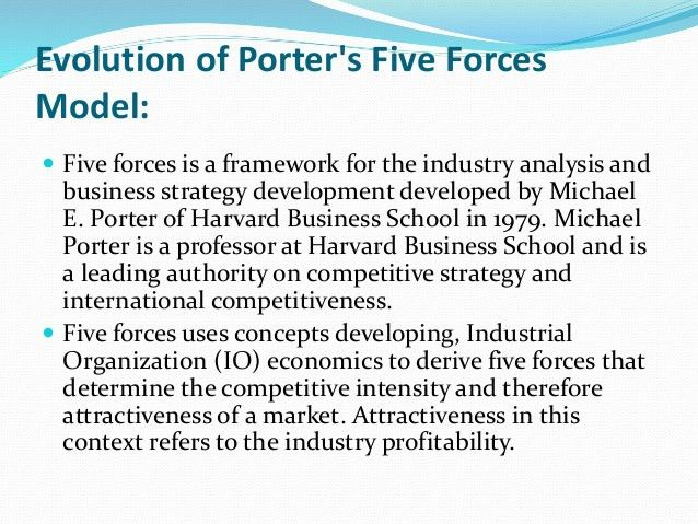 Porter's 5 forces analysis for car service industry