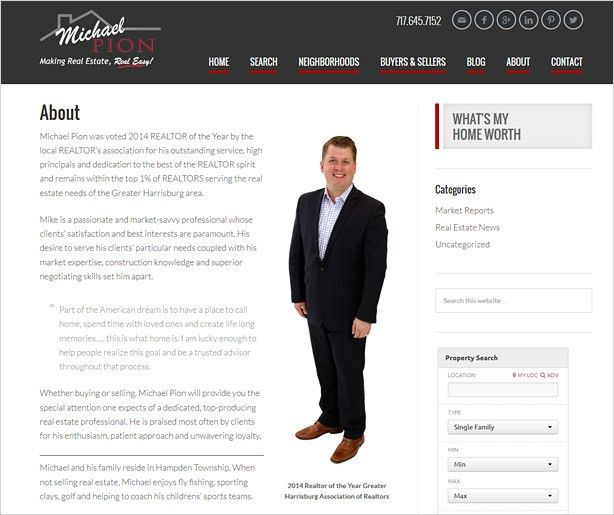 Real Estate Agent Biography, Writing a Real Estate Agent Bio ...