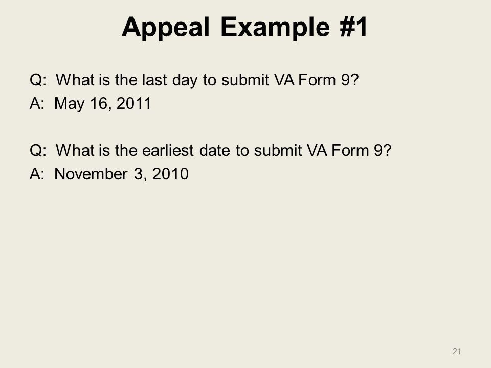 THE APPEAL PROCESS Barry Walter VFW Service Office. - ppt download
