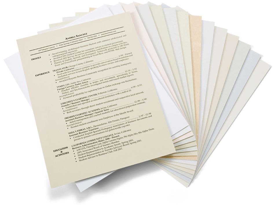 Linen Resume Paper Linen Cover Letter Paper Linen Cv Paper Free ...
